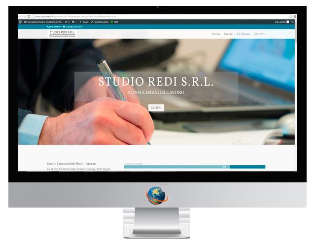 Nuovo sito web monopagina creazione siti web arezzo for Arredo legno design